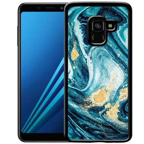 Samsung Galaxy A8 (2018) Mobilskal Golden Lavation