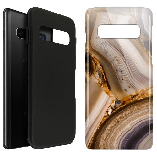 Samsung Galaxy S10 Plus LUX Duo Case Amber Agate