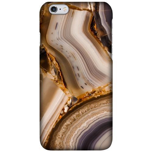 Apple iPhone 6 Plus / 6s Plus LUX Mobilskal (Matt) Amber Agate