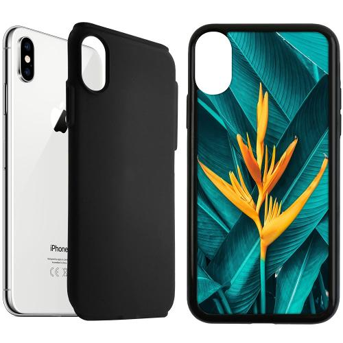 Apple iPhone XS Max Duo Case Svart Tranquility