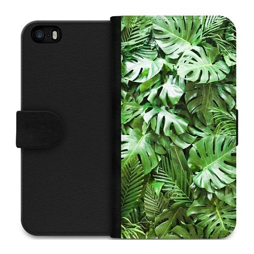 Apple iPhone 5 / 5s / SE Plånboksfodral Green Conditions