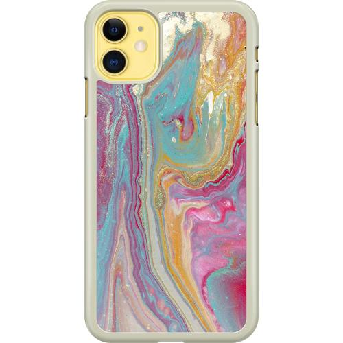 Apple iPhone 11 Hard Case (Transparent) Infatuated
