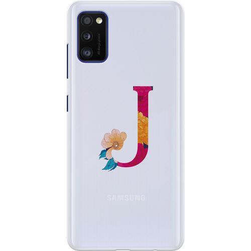 Samsung Galaxy A41 Thin Case Bokstaven - J