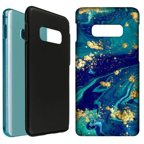 Samsung Galaxy S10e LUX Duo Case Golden Disarray