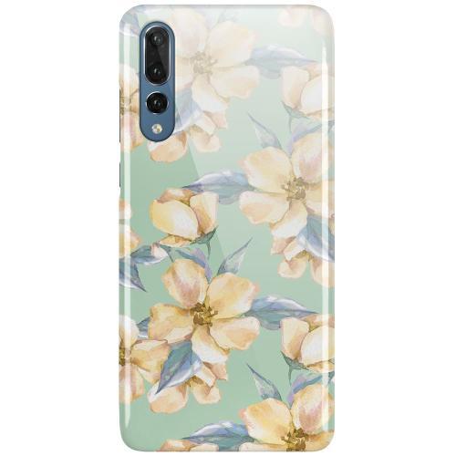 Huawei P20 Pro LUX Mobilskal (Glansig) Waterproof Flowers