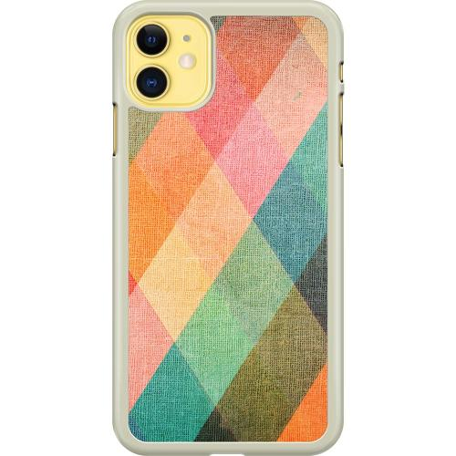 Apple iPhone 11 Hard Case (Transparent) Colours on Vectors