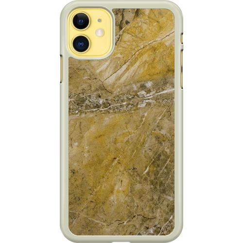 Apple iPhone 11 Hard Case (Transparent) Amber Artifact