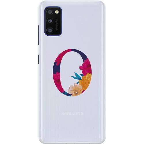 Samsung Galaxy A41 Thin Case Bokstaven - O