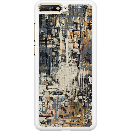Huawei Y6 (2018) Hard Case (White) Tribute to the Crown