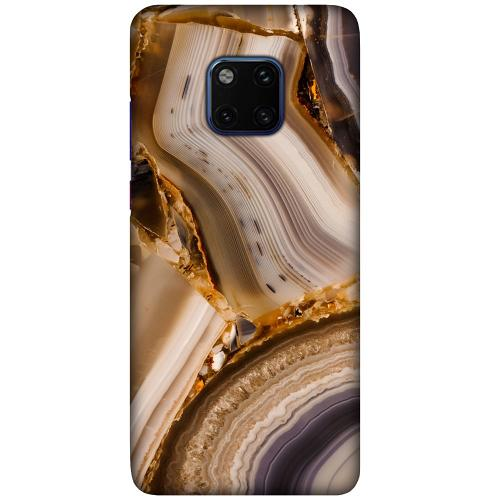 Huawei Mate 20 Pro LUX Mobilskal (Matt) Amber Agate