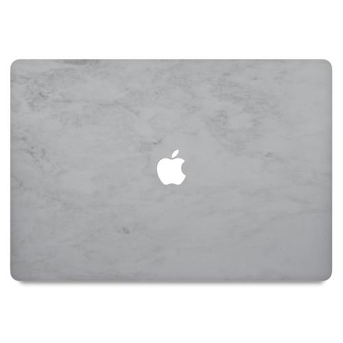 """MacBook Pro 13"""" (ej Touch Bar) Skin White Marble"""