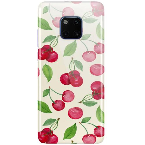 Huawei Mate 20 Pro LUX Mobilskal (Glansig) Cherry Etiquette
