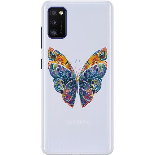 Samsung Galaxy A41 Thin Case Fjäril