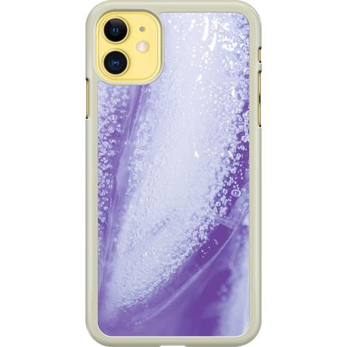 Apple iPhone 11 Hard Case (Transparent) Glacial Lavendel
