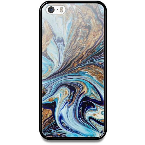 Apple iPhone 5 / 5s / SE Mobilskal med Glas Timeslip
