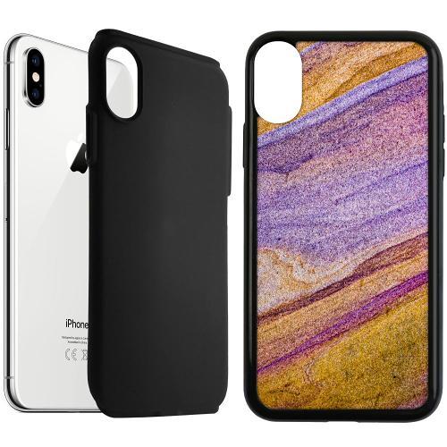 Apple iPhone XS Max Duo Case Svart Sandstorm Horizon