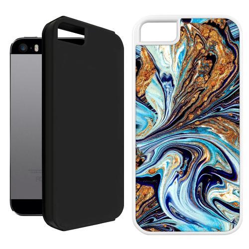 Apple iPhone 5 / 5s / SE Duo Case Svart Timeslip