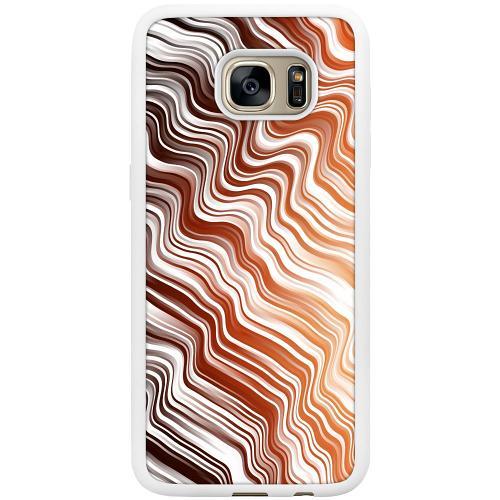 Samsung Galaxy S7 Edge Mobilskal Distorted Soundwaves