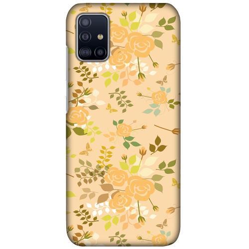 Samsung Galaxy A51 LUX Mobilskal (Matt) Flowery Tapestry