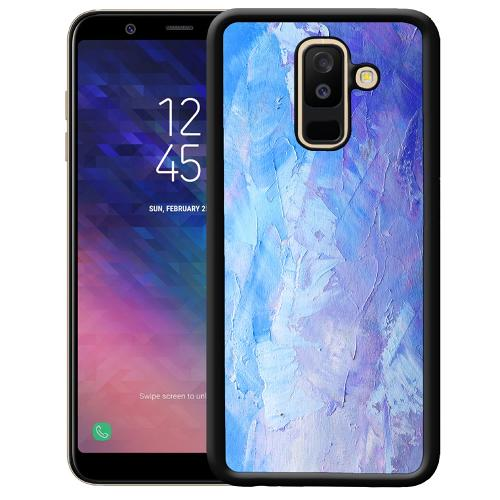 Samsung Galaxy A6 Plus (2018) Mobilskal Pristine Pastel Strokes