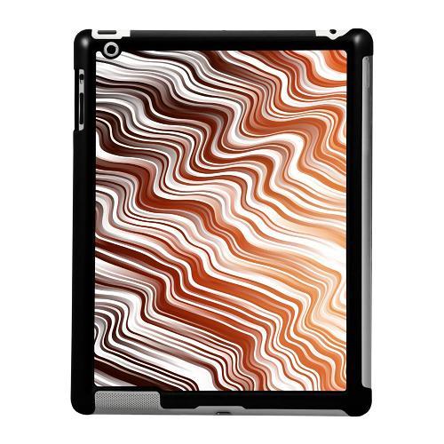 Apple iPad 2/3/4 Skal Distorted Soundwaves