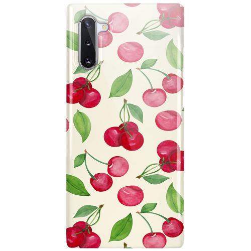 Samsung Galaxy Note 10 LUX Mobilskal (Glansig) Cherry Etiquette
