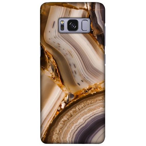 Samsung Galaxy S8 LUX Mobilskal (Matt) Amber Agate