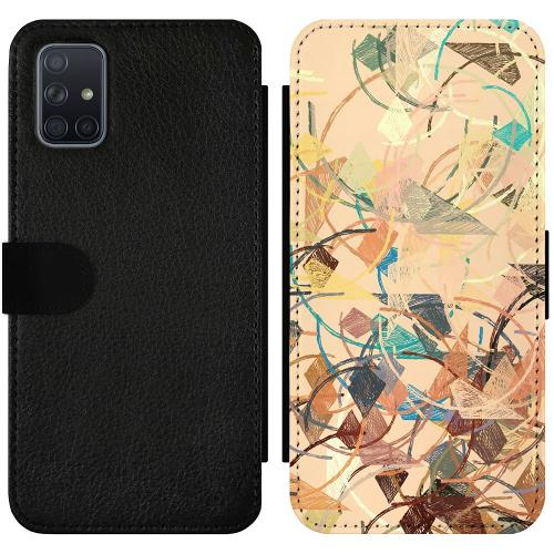 Samsung Galaxy A71 Wallet Slimcase Colourful Expectations