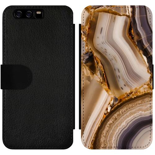 Huawei P10 Wallet Slimcase Amber Agate