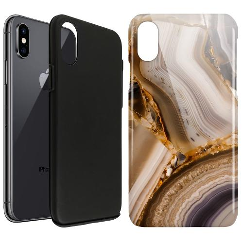 Apple iPhone X / XS LUX Duo Case Amber Agate
