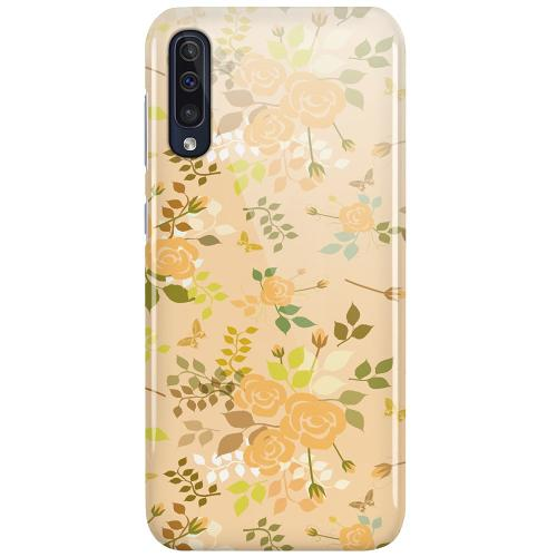 Samsung Galaxy A50 LUX Mobilskal (Glansig) Flowery Tapestry
