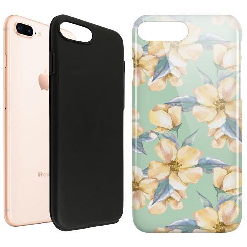 Apple iPhone 7 Plus LUX Duo Case Waterproof Flowers