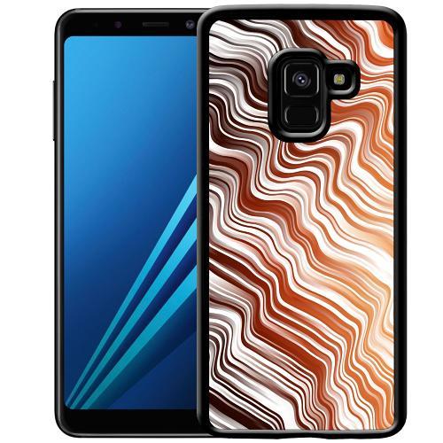 Samsung Galaxy A8 (2018) Mobilskal Distorted Soundwaves