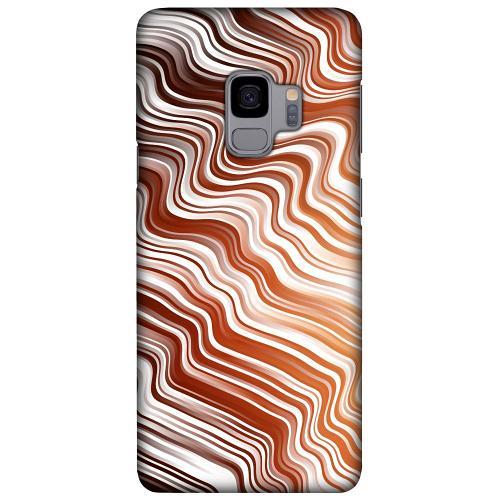 Samsung Galaxy S9 LUX Mobilskal (Matt) Distorted Soundwaves