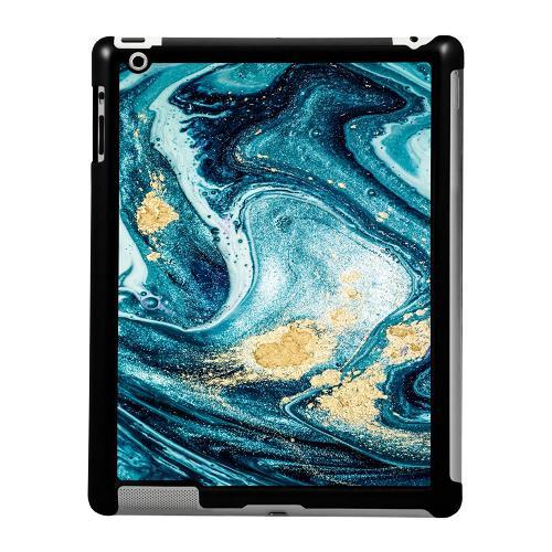 Apple iPad 2/3/4 Skal Golden Lavation