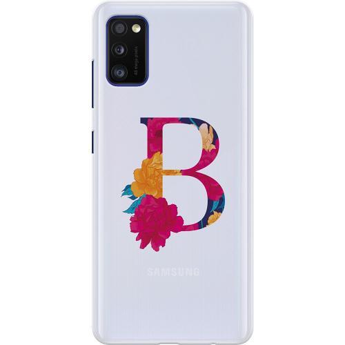 Samsung Galaxy A41 Thin Case Bokstaven - B