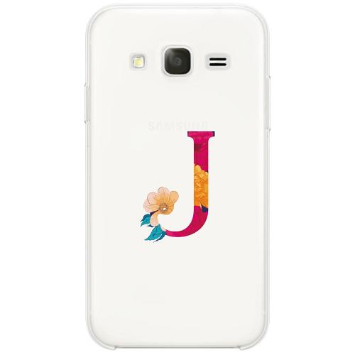 Samsung Galaxy Core Prime Firm Case Bokstaven - J