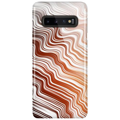 Samsung Galaxy S10 Plus LUX Mobilskal (Glansig) Distorted Soundwaves