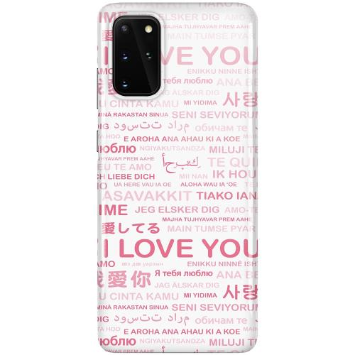 Samsung Galaxy S20 Plus LUX Mobilskal (Glansig) International Love