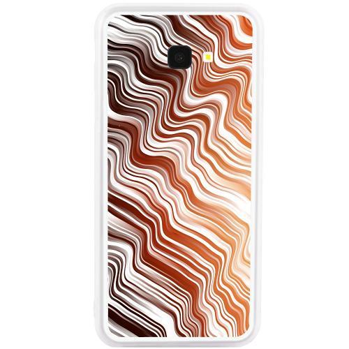 Samsung Galaxy J4 Plus (2018) Mobilskal Distorted Soundwaves