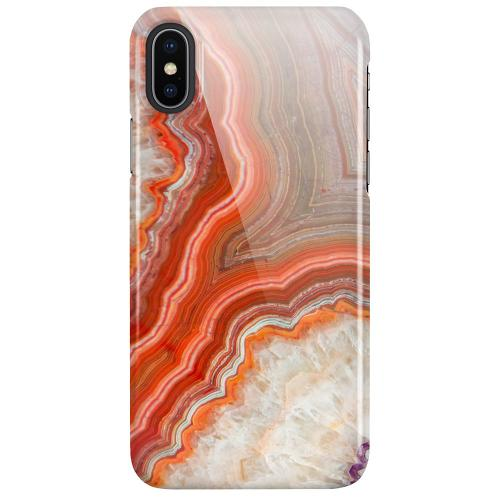 Apple iPhone X / XS LUX Mobilskal (Glansig) Molten Dispersal