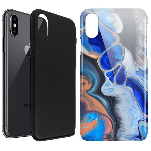 Apple iPhone X / XS LUX Duo Case Pure Bliss