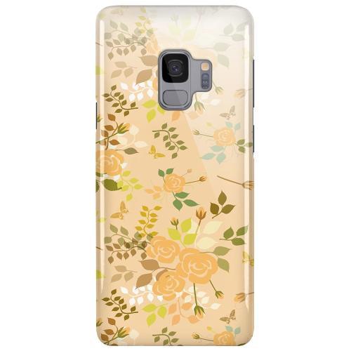 Samsung Galaxy S9 LUX Mobilskal (Glansig) Flowery Tapestry