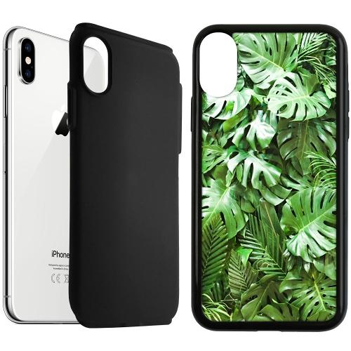 Apple iPhone XS Max Duo Case Svart Green Conditions
