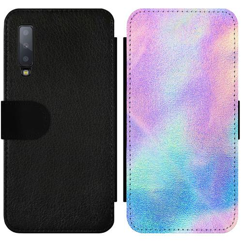 Samsung Galaxy A7 (2018) Wallet Slimcase Frosted Lavender
