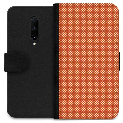OnePlus 7 Pro Plånboksfodral Orange Droplets