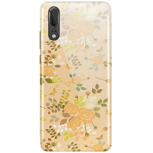 Huawei P20 LUX Mobilskal (Glansig) Flowery Tapestry