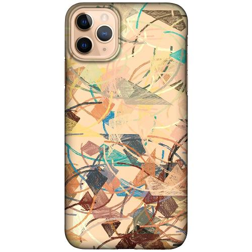 Apple iPhone 11 Pro Max LUX Mobilskal (Matt) Colourful Expectations