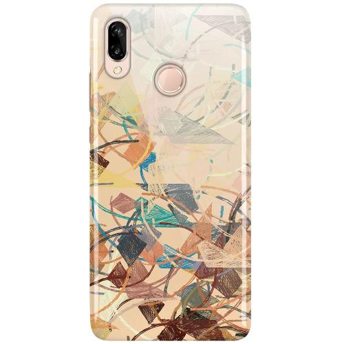 Huawei P20 Lite LUX Mobilskal (Glansig) Colourful Expectations