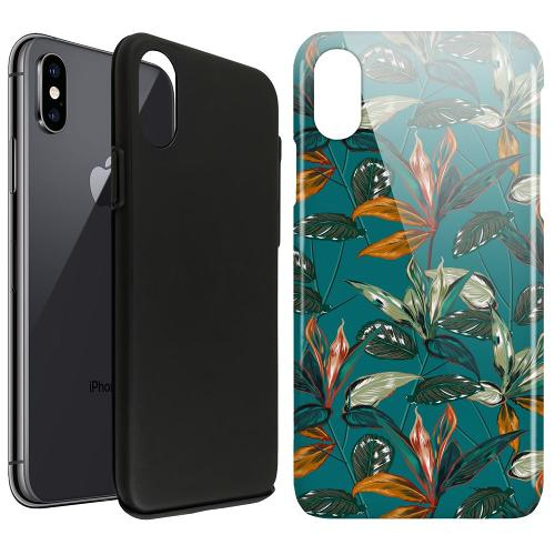 Apple iPhone X / XS LUX Duo Case Unknown Spaces